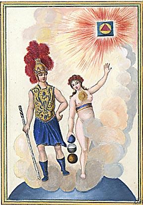 Trinosophie Kapitel 12 Mandala