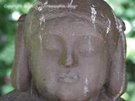 Eko-Haus Düsseldorf, Buddha-Statue