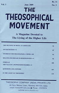 Cover THE THEOSOPHICAL MOVEMENT