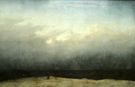 Mensch und Naturgewalt (Gemälde-Auszug) © Kô-Sen 2009