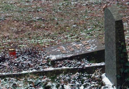 Jüdischer Friedhof Neustadt, neues Grab © Kô-Sen