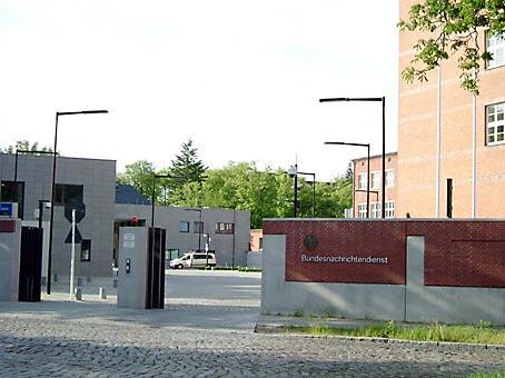 Bundesnachrichtendienst in Berlin-Lichterfelde. Foto: A.Fiedler