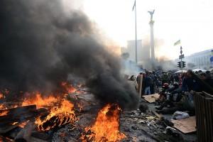 Gewalt auf dem Kiewer Unabhängigkeitsplatz gipfelte in der Vertreibung der gewählten Regierung. © Mstyslav Chernov