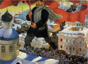 Schreckgespenst Bolschewik