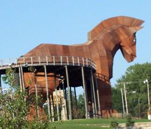 Trojanisches Pferd - Symbolbild
